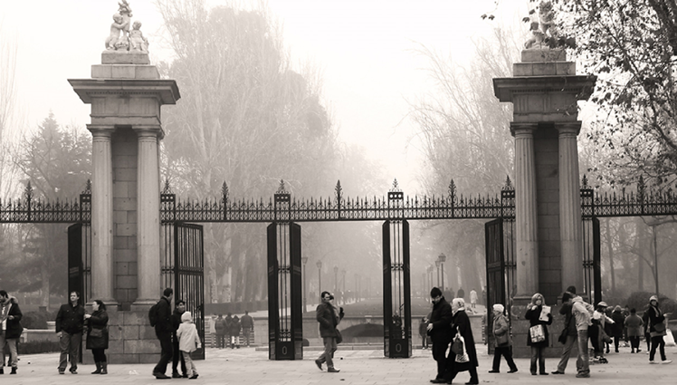 Imagen del Parque del Retiro, Madrid